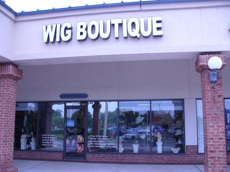 The wig boutique after khair salon contact us for 56 west boutique and salon
